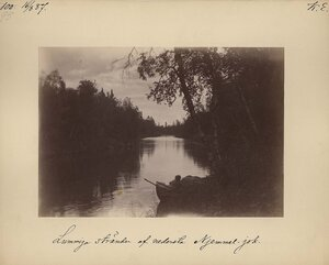 15.8.1887. Берега реки Няльмйок