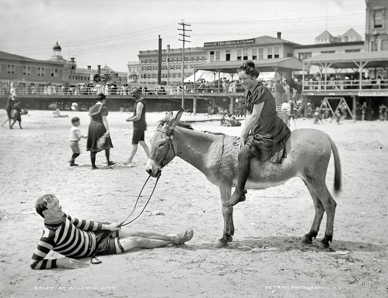 1905. В Атлантик-сити.