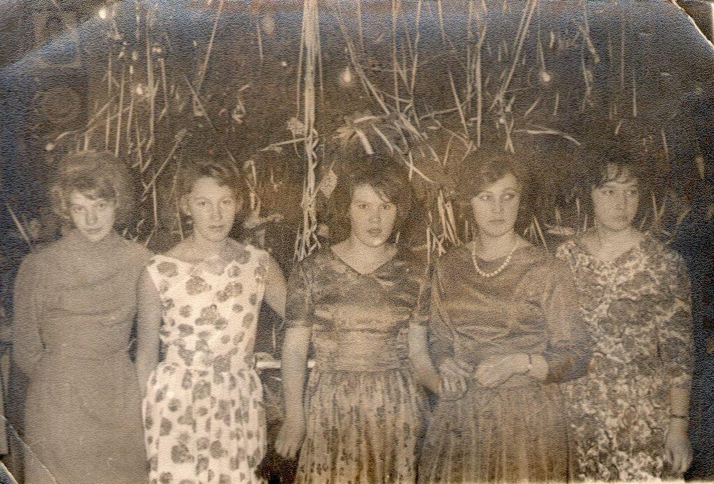 1965. Новый год в клубе Поречского консервного завода