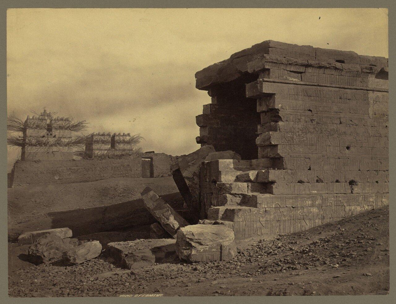 Армант. Руины храма бога Монту