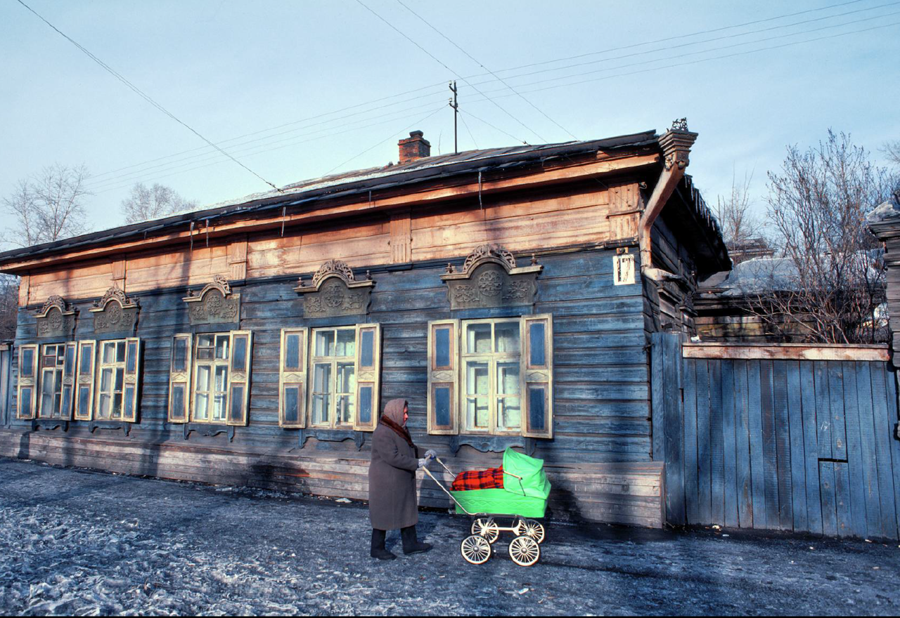Иркутск. Вероятно улица Грязнова