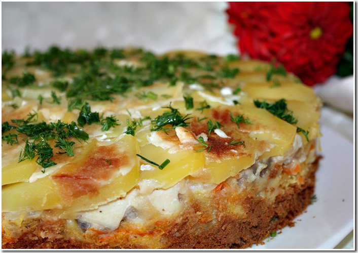 Пирог Клюмс фото рецепт