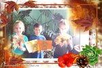 """1 класс А (рук. Матыгулина Т.В.) - """"Осеннее дерево"""""""