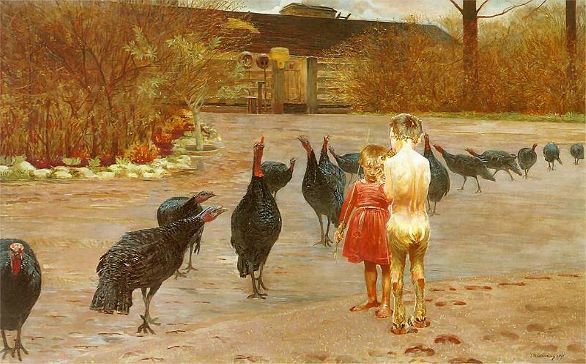 Искусство в заводи.1896_Яцек Мальчевский(1854 -  1929)
