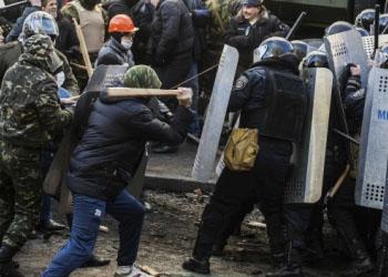 Протесты в Киеве: В ходе столкновений погибли 3 человека