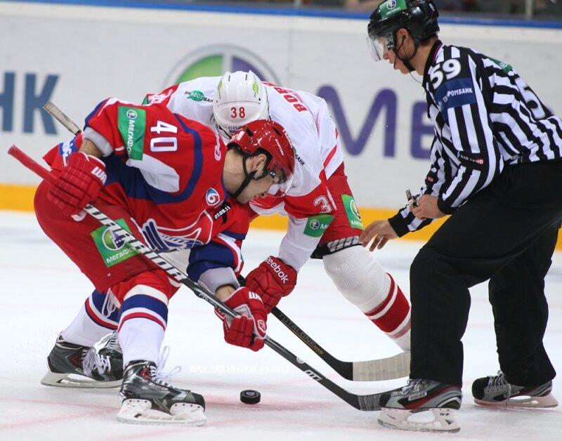 «Локомотив» vs «Спартак» 1:2 Б чемпионат КХЛ 2013-2014 (Фото)