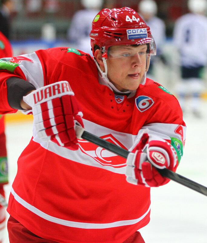«Спартак» vs «Амур» 1:0 чемпионат КХЛ 2013-2014 (Фото)
