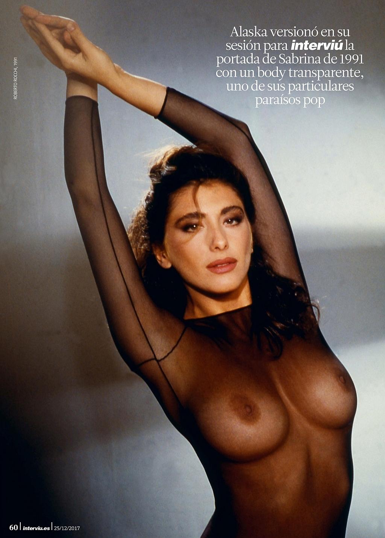 Сабрина Салерно в журнале Interviú