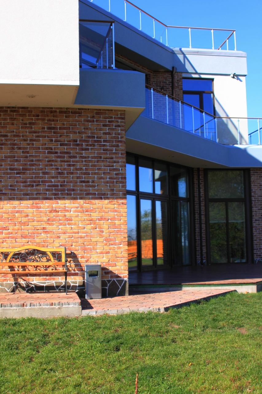 дом с плоской крышей - устройство парапетов