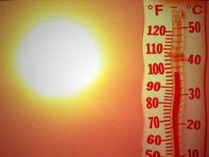 Рекордно высокая температура на поверхности Земли