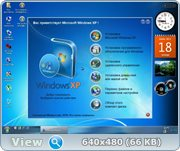 Windows XP Service Pack 3 (2010 WinStyle eXPanded Seven Edition by Omega Elf)