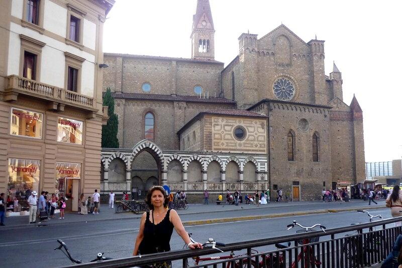 Италия 2011г. 27.08-10.09 622.jpg Церковь Санта Мария Новелла (Santa Maria Novella) Адрес: Piazza della Stazione