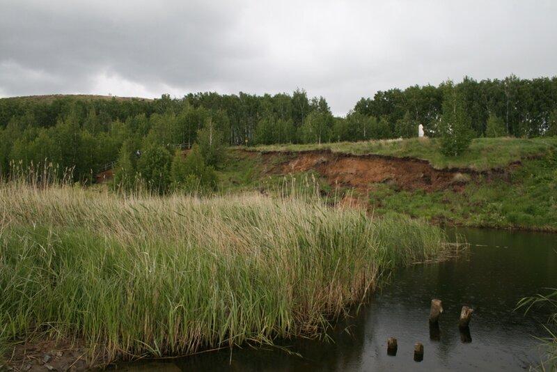 Глубина реки больше 35 метров (18.10.2013)
