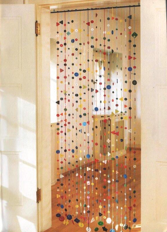 Висюльки на дверь своими руками из бумаги 88