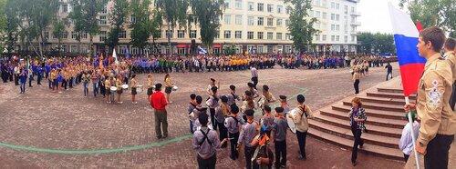 Джамбори - парад