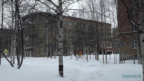Фото города Инта №6472  Юго-западный угол Горького 9 26.02.2014_12:32