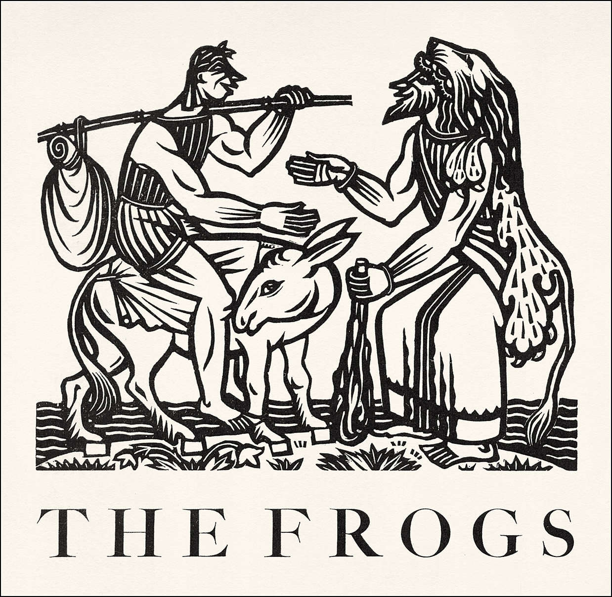 John Austen, The frogs by Aristophanes