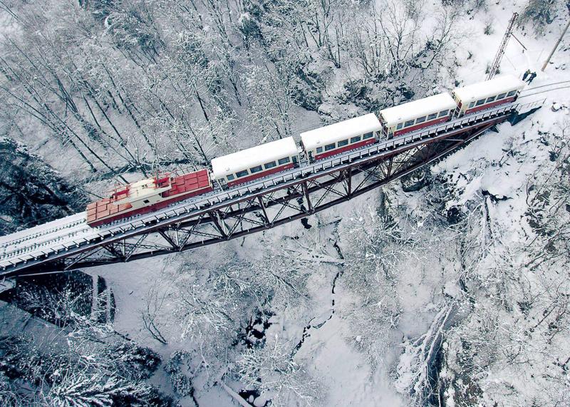 Поезд в Бакуриани