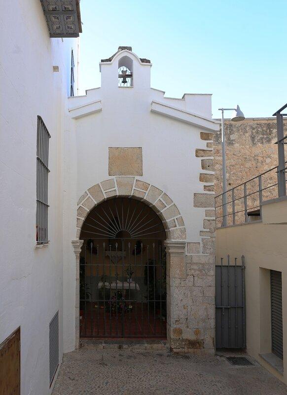 Peniscola. St. Anne's Chapel. Capelleta de Santa Anna. Peniscola.