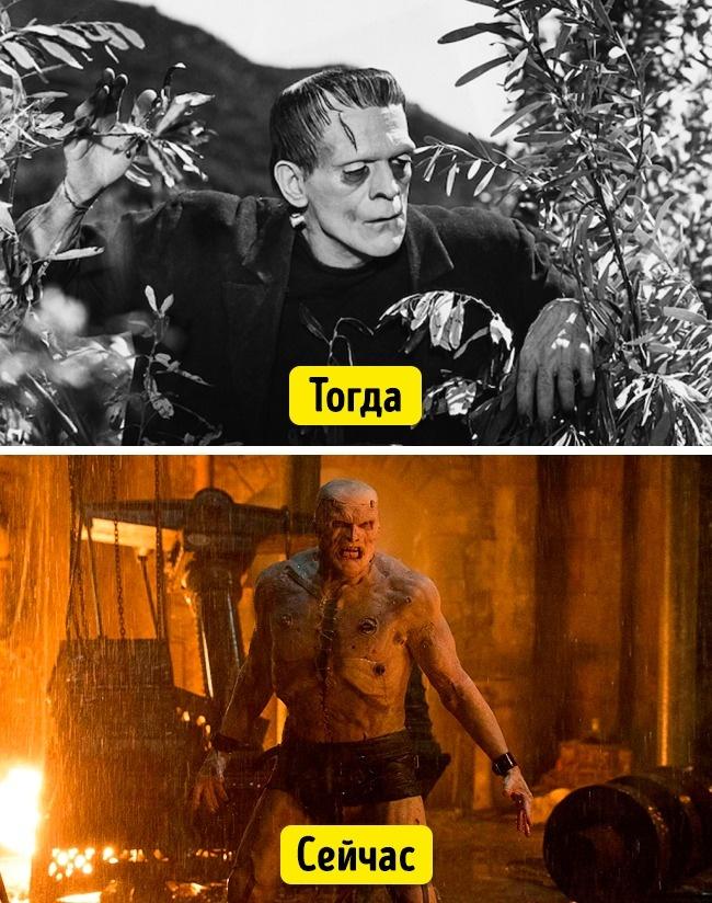 Да, по современным меркам герой фильма 1931 года выглядит не так уж пугающе. Но актер Борис Карлофф