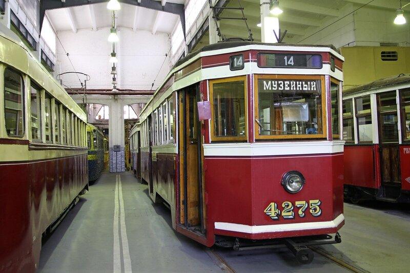 Трамвайный поезд ЛМ-33 №4275 «Американка» IMG_8764