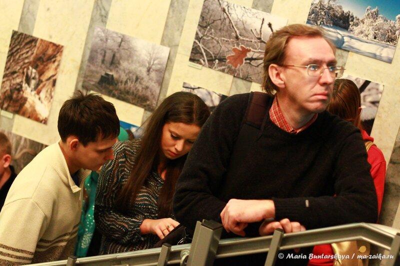 Фотовыставка 'Тропинками саратовского леса', Саратов, областной музей краеведения,  24 октября 2013 года