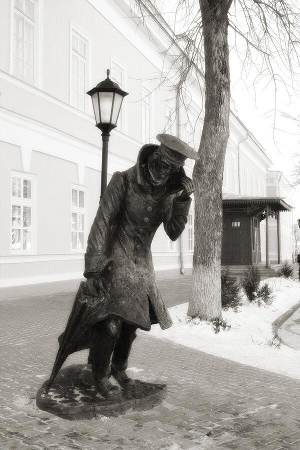 Сегодня играли в городе Антона Чехова и Фанни Фельдман.