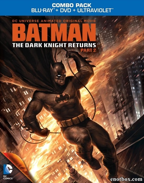 Темный рыцарь: Возрождение легенды. Часть 2 / Batman: The Dark Knight Returns, Part 2 (2013/BDRip/HDRip)