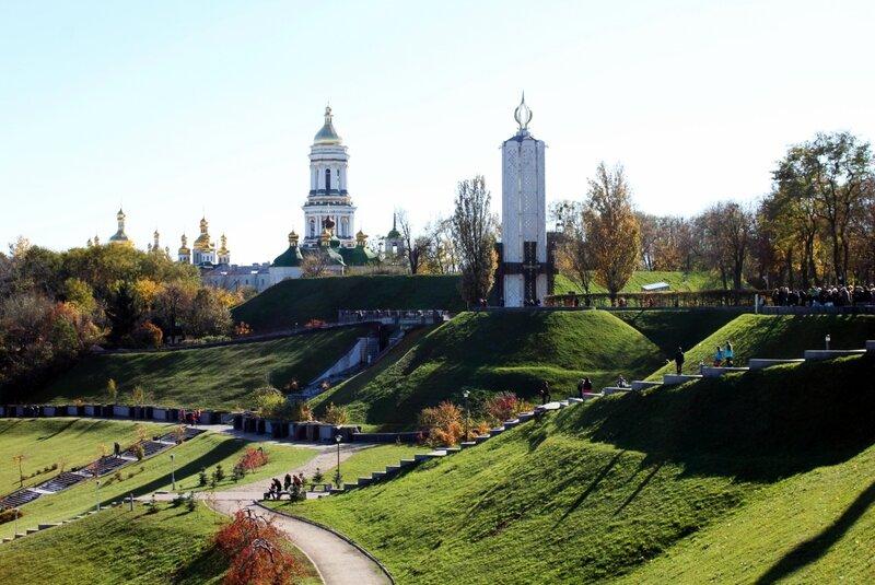 Склоны парка Славы