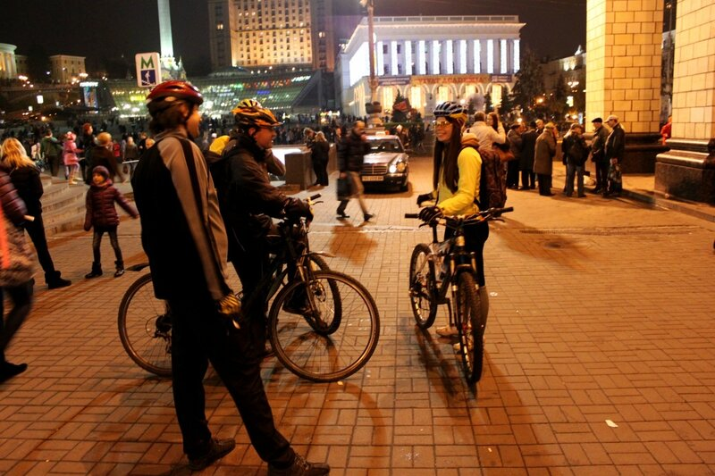 Bike Light Ride 2013 киев