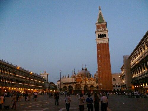 Италия. Венеция. Башня на Сан-Марко. (Italy. Venice. Tower of San Marco)