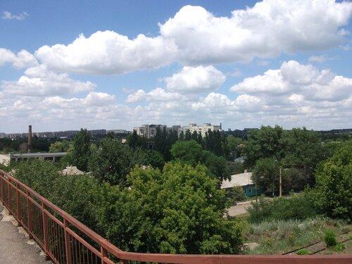 Вид с моста в сторону 88 квартала