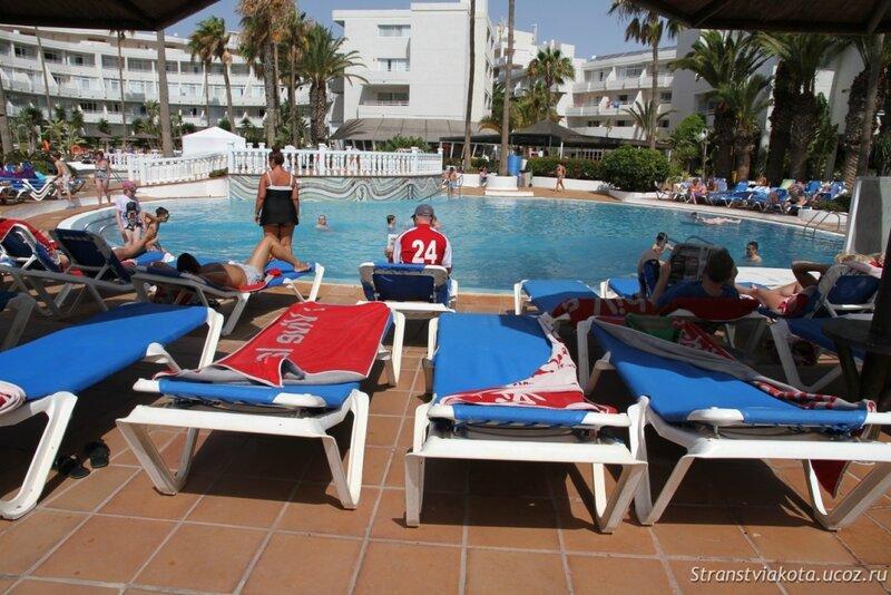 Бассейны в Sol Lanzarote