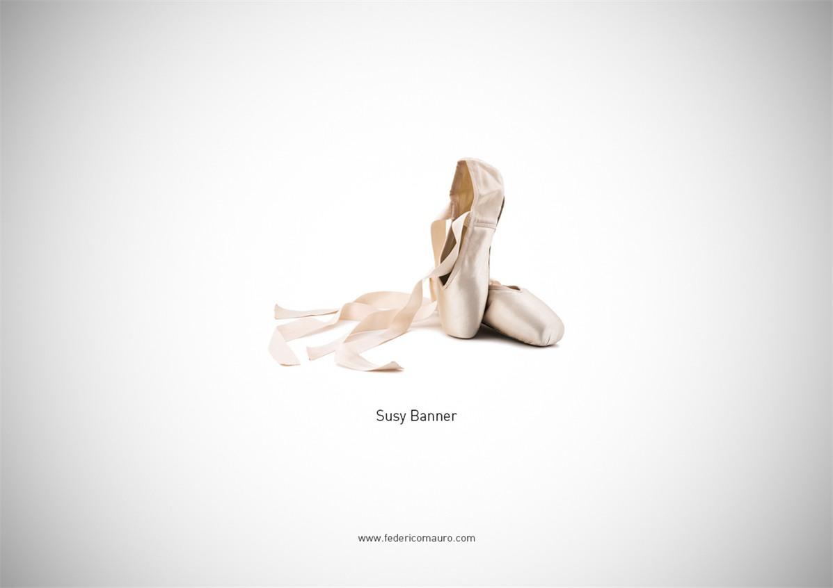 Знаменитая обувь культовых персонажей / Famous Shoes by Federico Mauro - Suzy Bannion