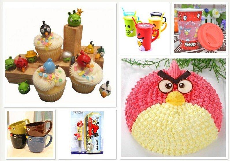Кухня в стиле Angry Birds