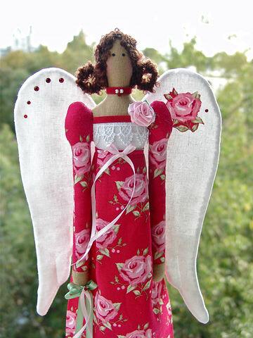 винтажный ангел тильда