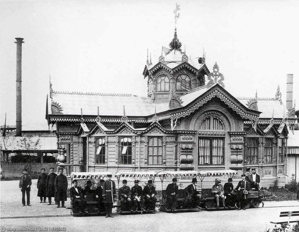 Электрическая дорога, 1882 г.