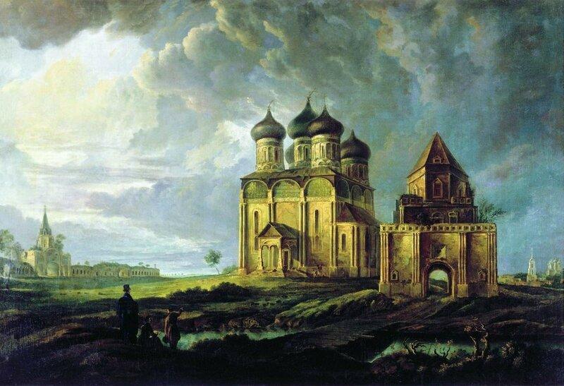 Бодри-Карл-Фридрих-Петрович-Вид-села-Измайлово-1830-Государственный-Исторический-музей-Москва.jpg