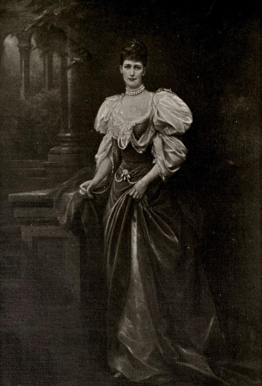 Queen Alexandra Of England By Edward Hughes
