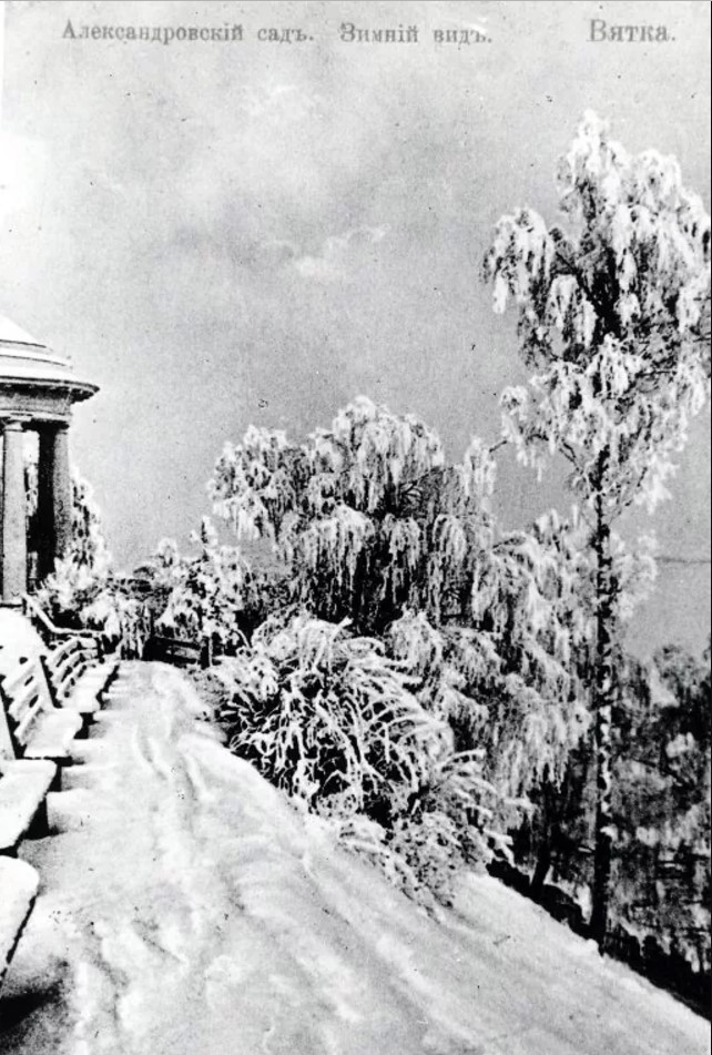 Александровский сад. Зимний вид
