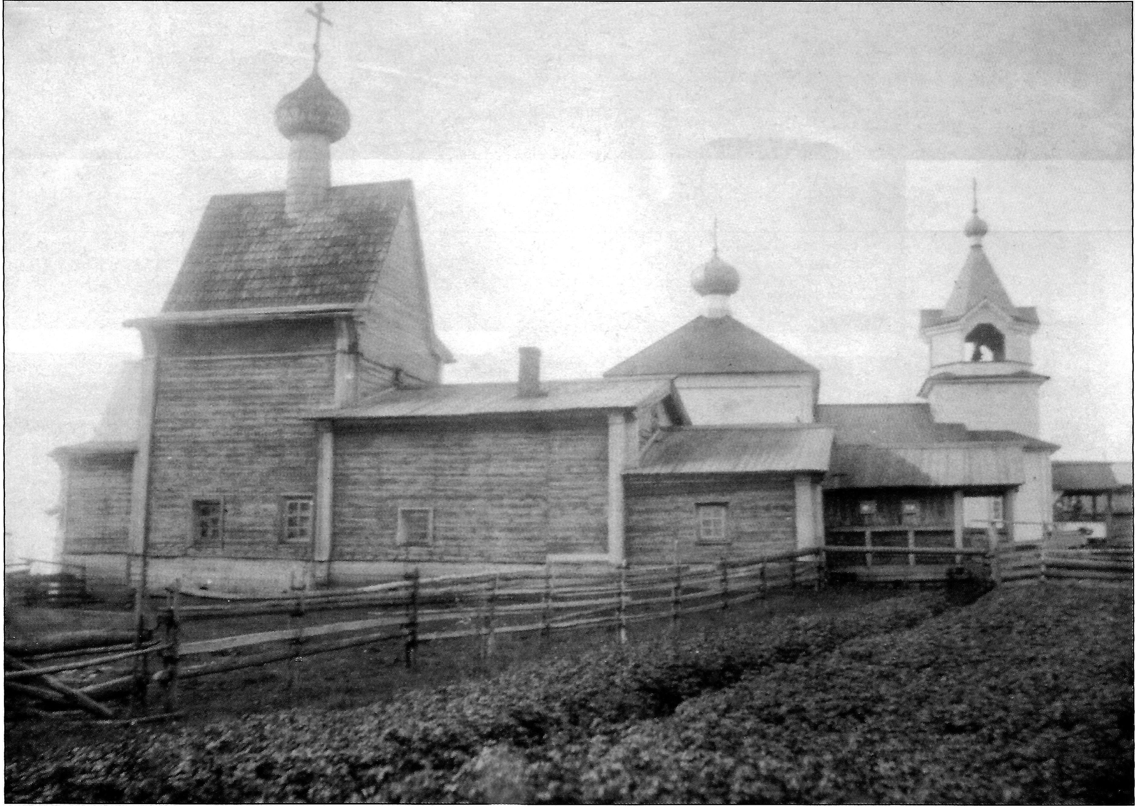 Церковь Рождества Иоанна Предтечи в деревне Погорелец