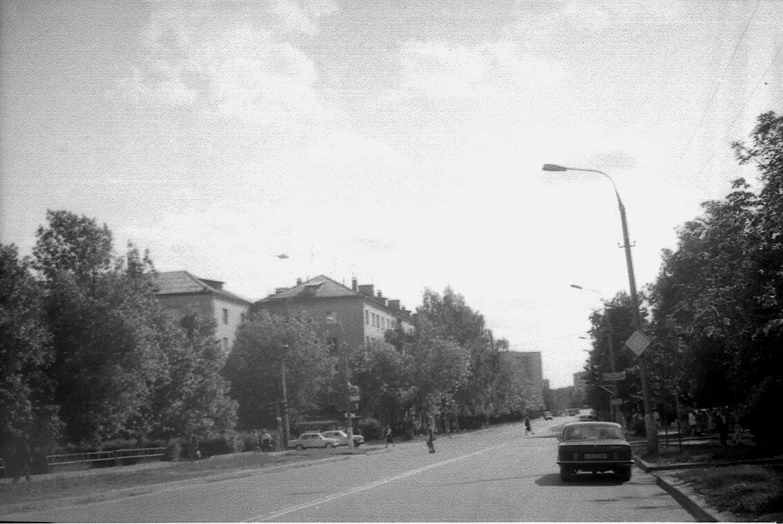 1987. Новомытищинский проспект