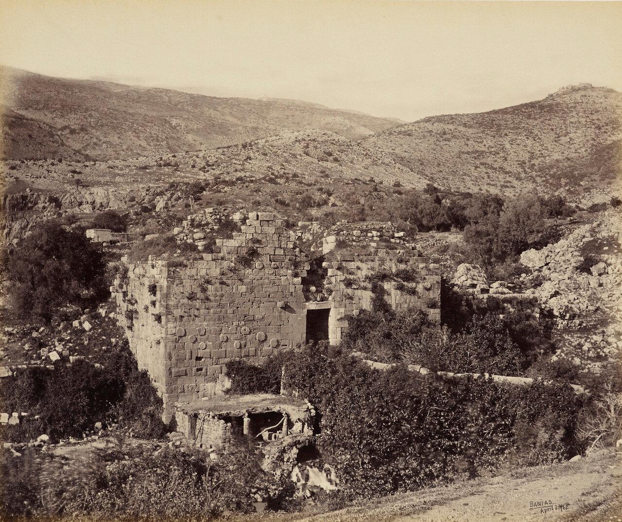 23 Aпреля 1862. Ворота в Цитадель, Баниас, Голаны