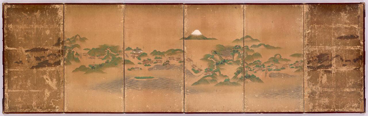 Японская карта, 1640