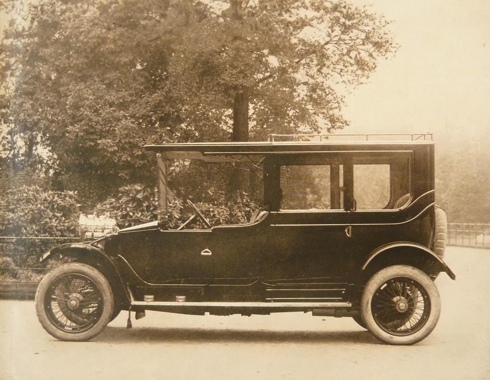Автомобиль британской компании Lanchester Motor Company доктора Фредерика Ланчестера