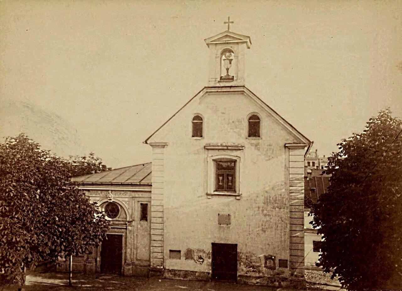 Часовня св. Варвары. 1873