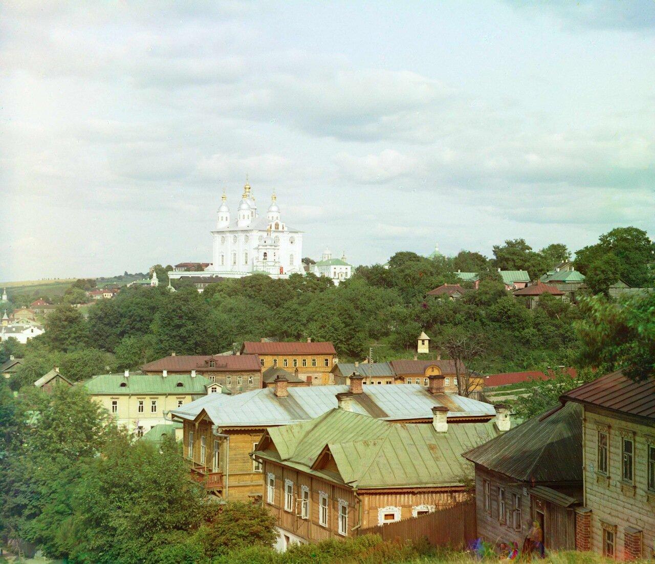 Кафедральный Успенский собор с Казанской горы
