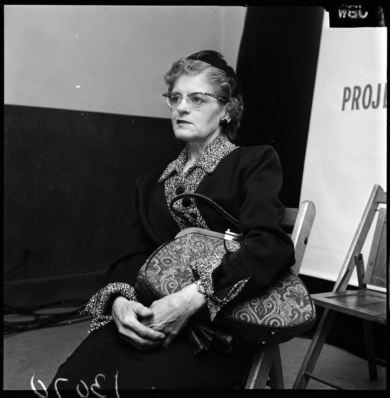 1961.13 декабря. Проект Тревога (антикоммунистическая конференция). Госпожа Барбара Хартл (бывший член компартии)