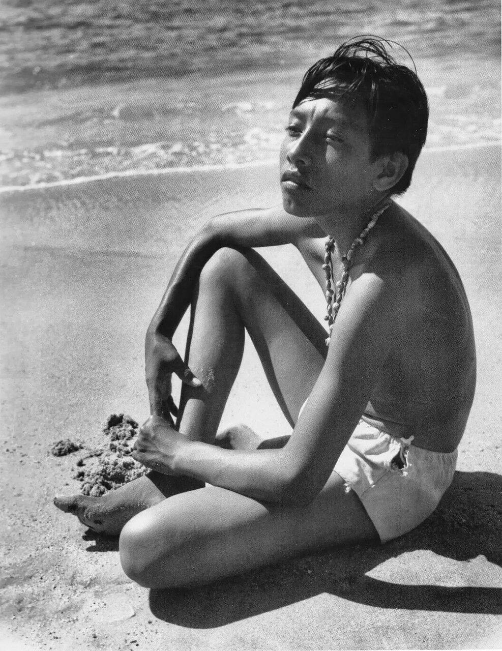 1950. Ребенок, Акапулько