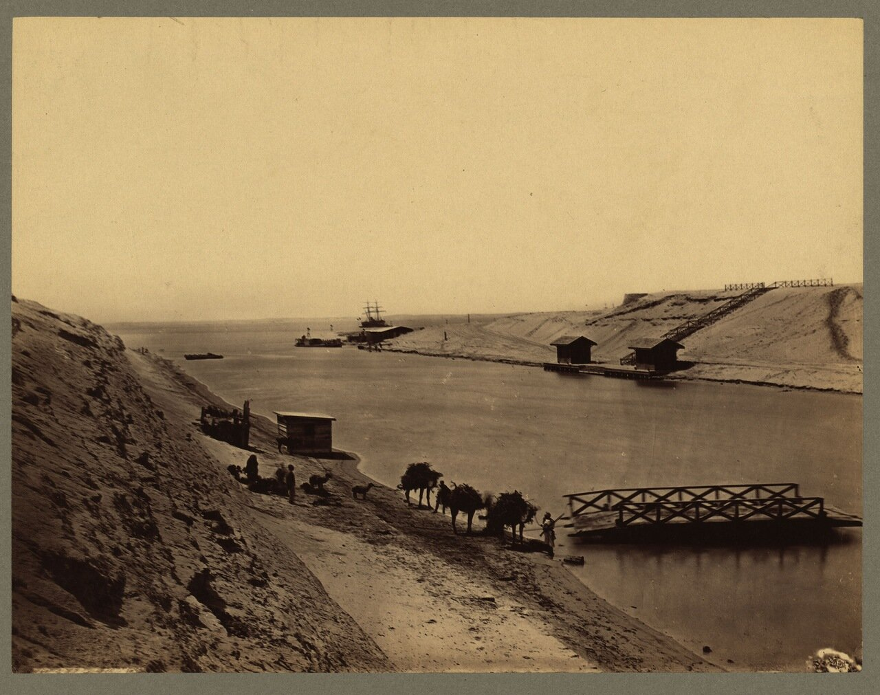 Суэцкий канал. Озеро Тимсах